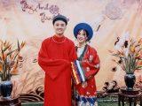 Cổ phục Việt trong ngày cưới