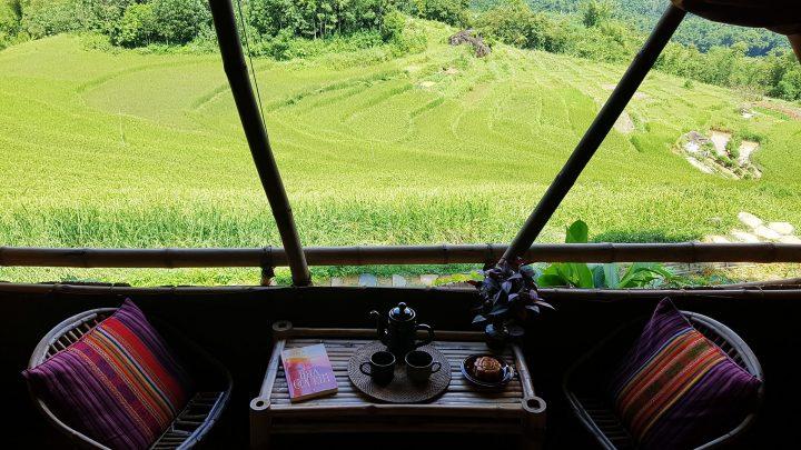 7 khu nghỉ dưỡng Pù Luông mùa lúa chín